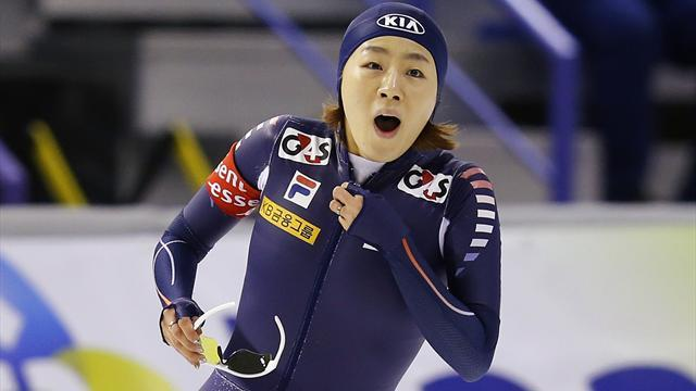 Speed Skating - Canadian Crockett aims to keep Korea on top