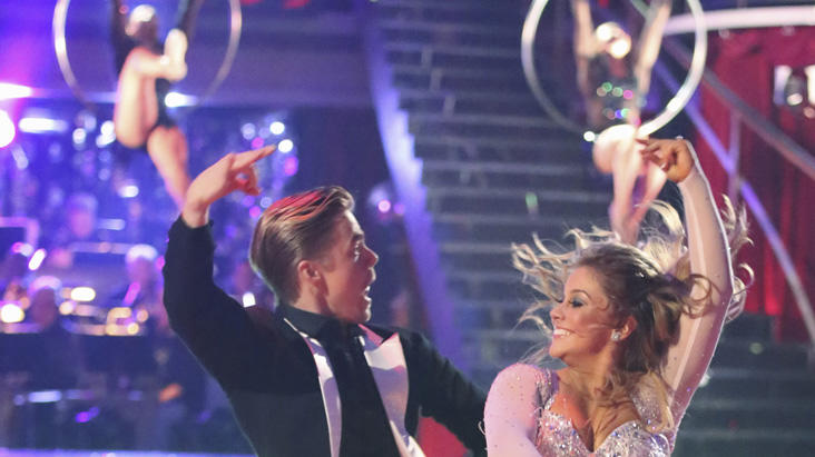 Derek Hough and Shawn Johnson  (11/26/12)