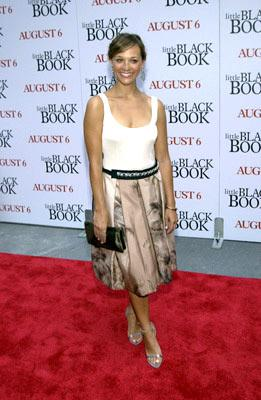 Premiere: Rashida Jones at the New York premiere of Revolution Studio's Little Black Book - 7/21/2004