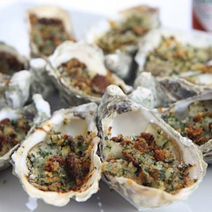 Crunchy Oysters: Recipes: Food