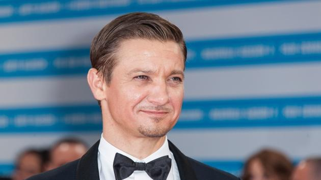 Jeremy Renner arrives for the premiere of the film 'The Bourne Legacy' during 38th Deauville American Film Festival on September 1, 2012 in Deauville, France -- Getty Images