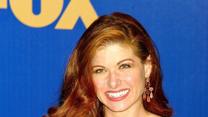 "Debra Messing, winner of Outstanding Lead Actress in a  Comedy Series for ""Will & Grace"" at The 55th Annual Primetime Emmy Awards."