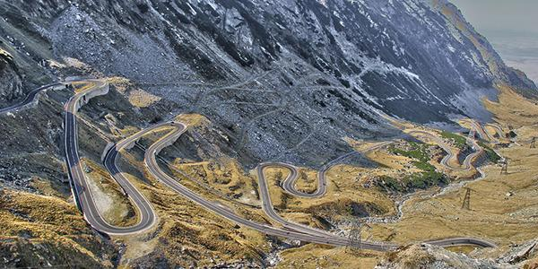 World's scariest roads - Transfăgărășan Road, Romania