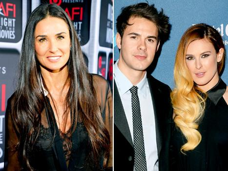 Demi Moore Convinced Rumer Willis, Jayson Blair to Try 21-Day Cleanse
