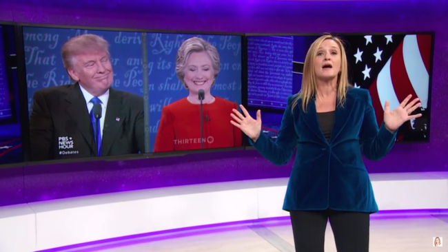 Samantha Bee Goes After Post-Debate 'Pageant Moms Of Punditry'