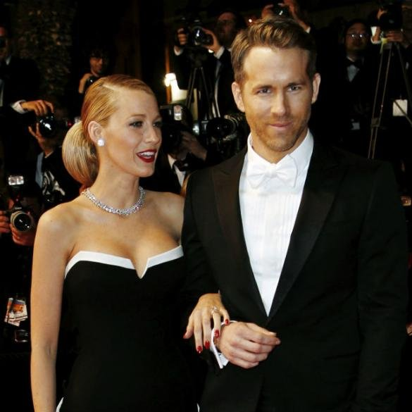 Ryan Reynolds: 'I'd Use Blake Lively As A Human Shield To Protect Our Baby'