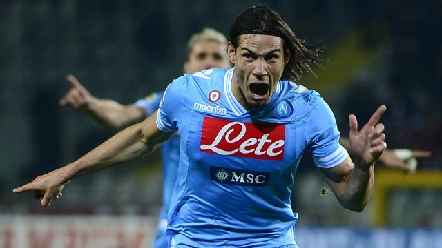 Serie A - Chelsea reach €58m deal for Cavani - report