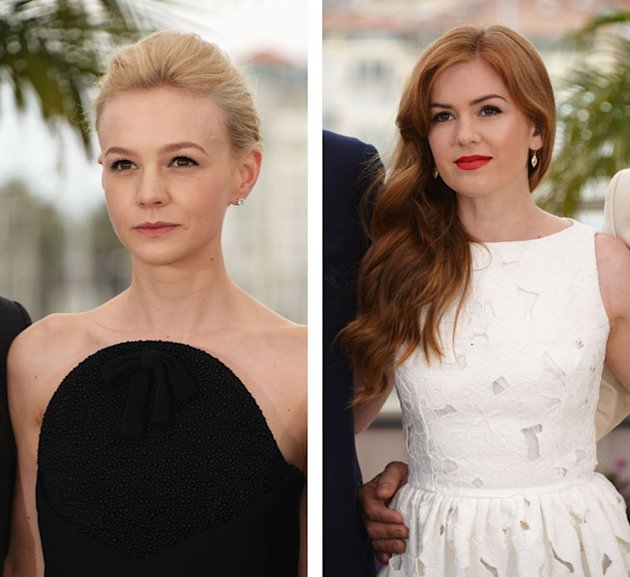 carey mulligan, isla fisher, cannes film festival, great gatsby premiere, great gatsby photocall