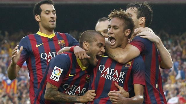 Liga - Barcelona take Clasico honours; Roma still perfect in Italy