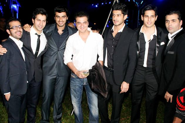 Bollywood's young guns spotted together