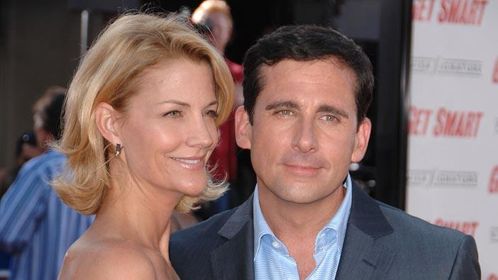 Get Smart Premiere 2008 Nancy Walls Steve Carell