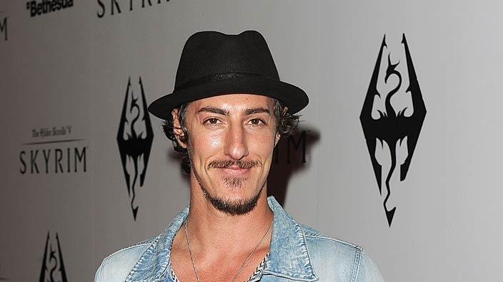 Eric Balfour Elder ScrollsV Skyrim Launch Party