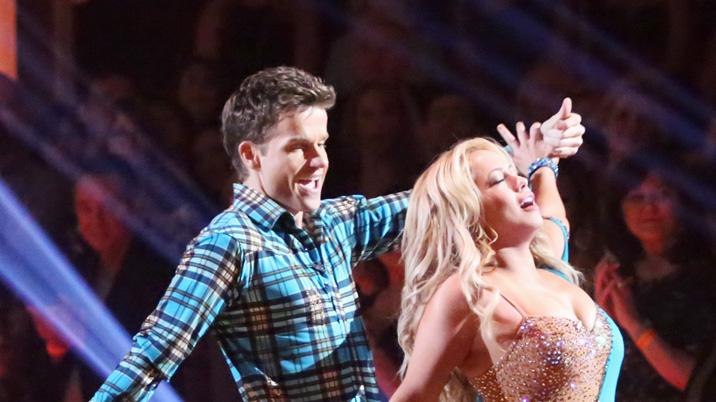 Louis Van Amstel and Sabrina Bryan (10/29/12)