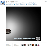 Super Bowl Post Game Highlights: Social Media Stars Shine on the Big Stage image oreo