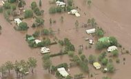 Australia Floods Threaten To Wash Homes Away