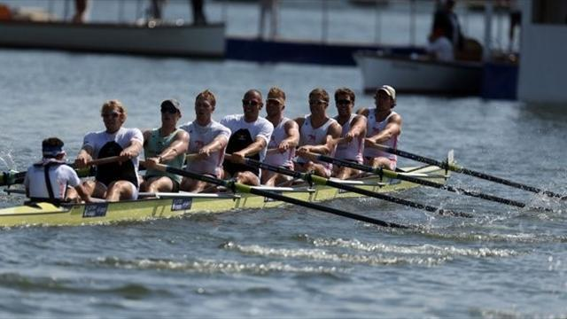 Rowing - British eight in record-breaking Henley row