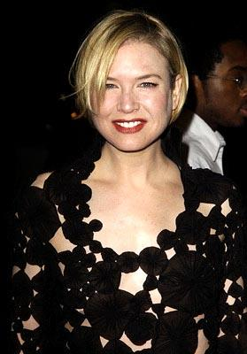 Renee Zellweger at the LA premiere of Miramax's Chicago