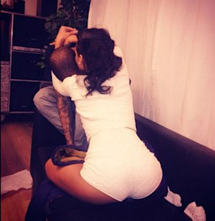 'They're Toxic Together': Fans React To Rihanna And Chris Brown's Kissing Photo