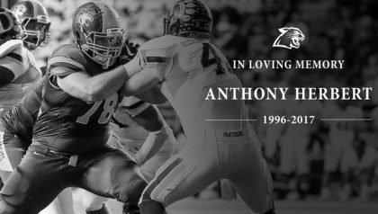 Anthony Herbert was 20. (Photo via NMU)