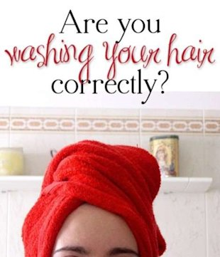 Are You Washing Your Hair Correctly?