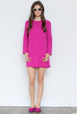 Long-Sleeve Minidress