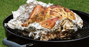 Cameron Ewart-Smith's kettle braai turkey with cashew nut stuffing recipe, National Braai Day