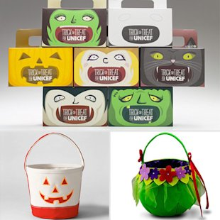 Halloween Candy Totes
