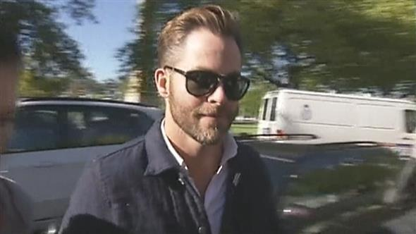 Chris Pine, declarado culpable por conducir ebrio