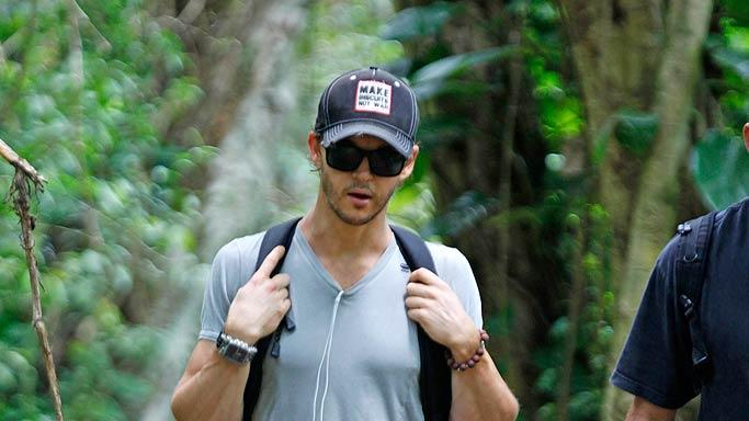 Ryan Kwanten Hiking