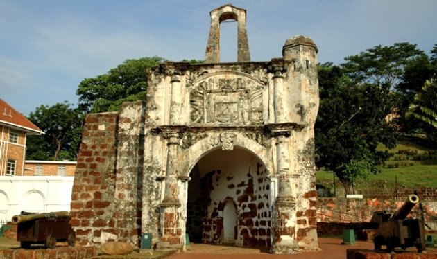 A'formosa, a former Portugese fort in Malacca
