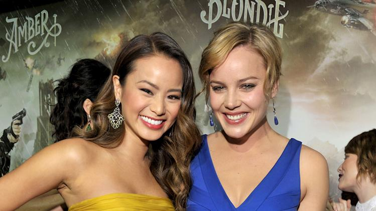 Sucker Punch 2011 LA Premiere Jamie Chung Abbie Cornish