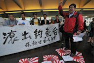 Protesters in Hong Kong add their voices to the Sino-Japanese dispute about sovereignty over a group of uninhabited islets in the East China Sea. The two nations are holding high-level maritime talks on Wednesday to discuss the issue