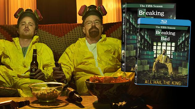 """Breaking Bad"" Season 5 - DVD & Blu-Ray"