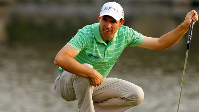 Golf - Harrington eyes third time charm at Grand Slam