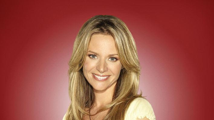 "Jessalyn Gilsig returns as Terri Schuester in season 2 of ""Glee."""