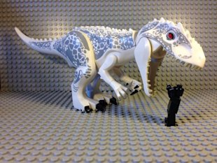 Jurassic World New Dinosaur First Look image Jurassic World D Rex Lego