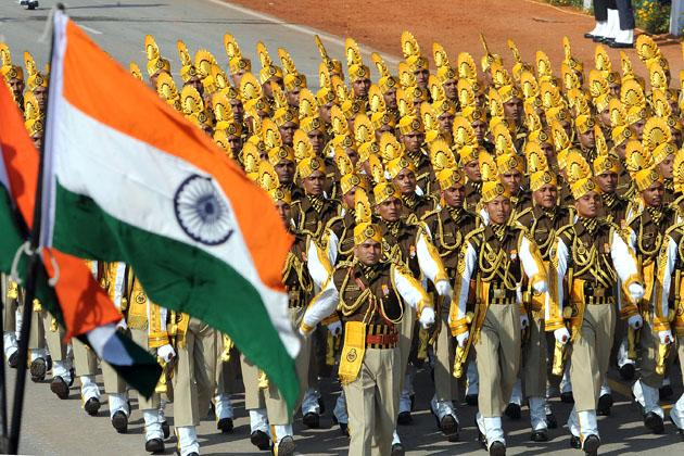 India shows military prowess, culture on 64th Republic Day