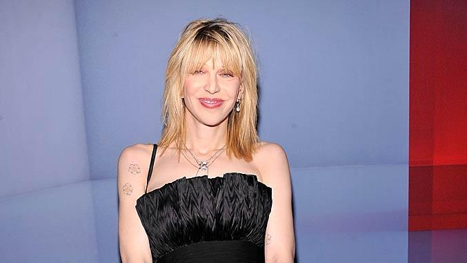 Courtney Love Valentino Museum Launch