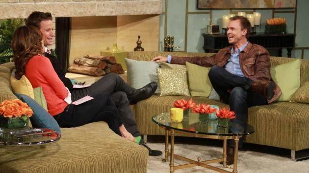 'Amazing Race' host Phil Keoghan chats with Billy Bush and Kit Hoover on Access Hollywood Live on October 11, 2012 -- Access Hollywood