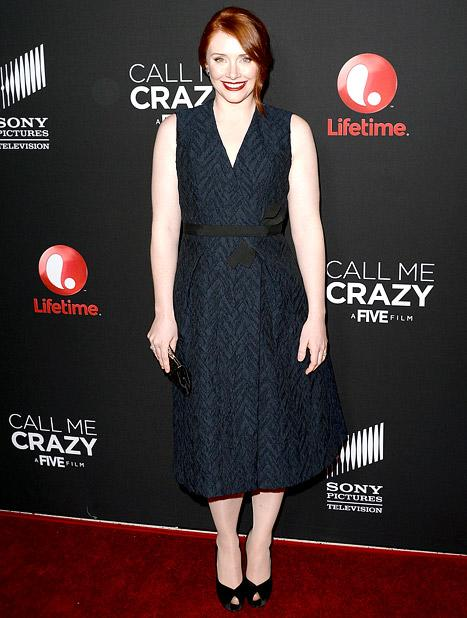 Bryce Dallas Howard Makes Red Carpet Return, Talks Post-Partum Depression