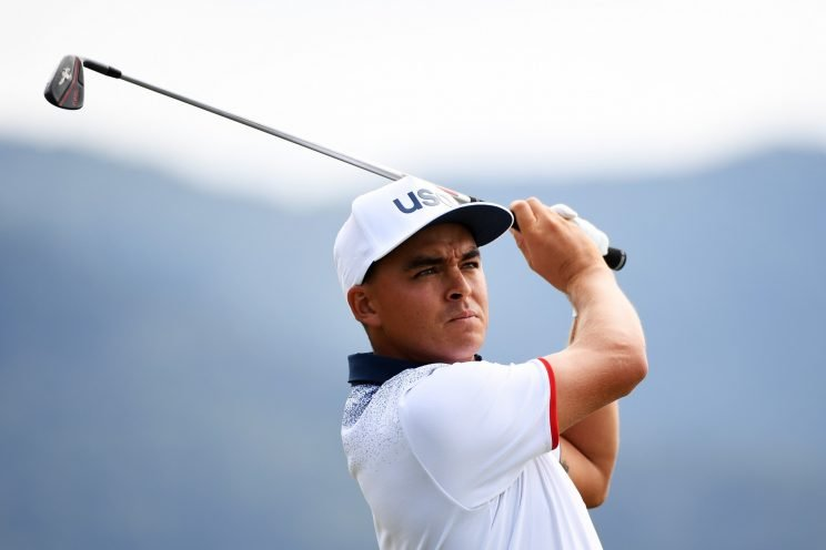 Rickie Fowler is ready to team up with an Aussie. (Getty Images)