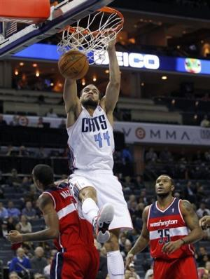 Sessions scores 21 as Bobcats beat Wizards 92-76