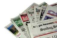 Pros and Cons of Free Publicity in Newspapers, Magazines image newspapersectionsinpile2