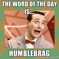 B Sides: 10 Most Annoying Facebook Practices image peewee herman humblebrag 300x300