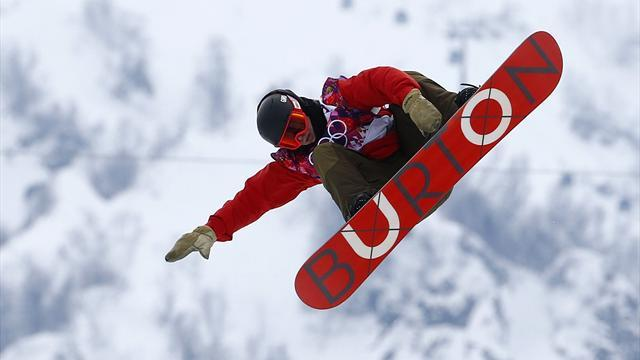 Snowboard - Halfpipe underway despite course being 'garbage'