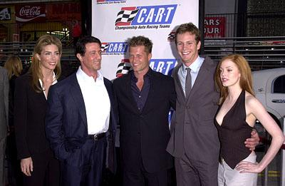 Premiere: Jennifer Flavin, Sylvester Stallone, Til Schweiger, Kip Pardue and Rose McGowan at the Hollywood premiere of Warner Brothers' Driven - 4/16/2001