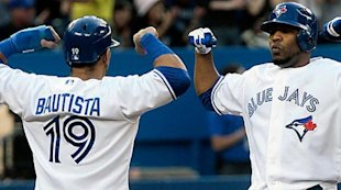 Blue Jays Jose Bautista and Edwin Encarnacion