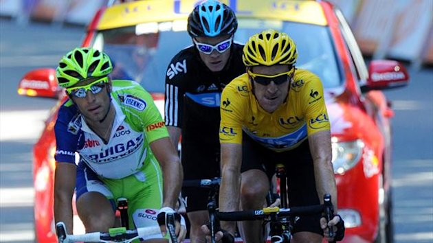 2012 Tour de France Nibali Froome Wiggins
