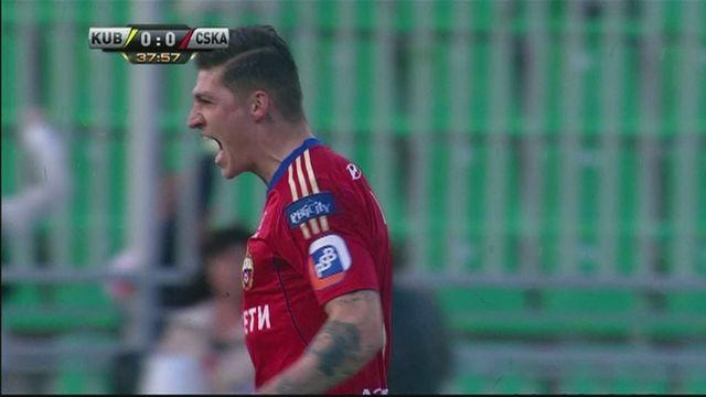 CSKA Moscow win 4-0 at Kuban Krasnodar