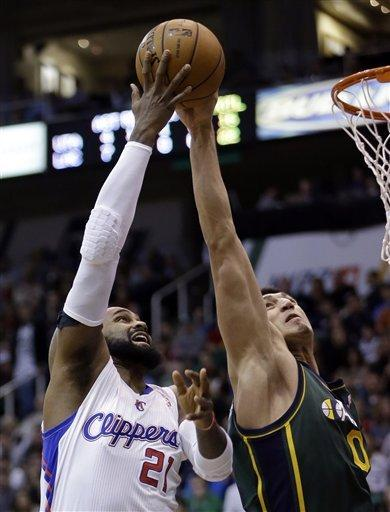 Clippers beat Jazz 116-114 for 16th straight win